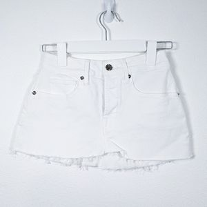 Good American Ultra Mini Skirt White Size 00